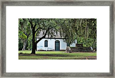 Framed Print featuring the photograph Strawberry Chapel by Linda Brown