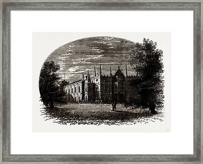 Strawberry Hill In Walpoles Time Framed Print