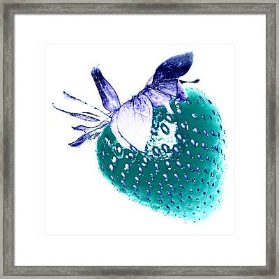 Strawberry Framed Print by Jenny Hudson