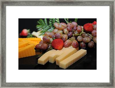 Strawberry Plus Framed Print