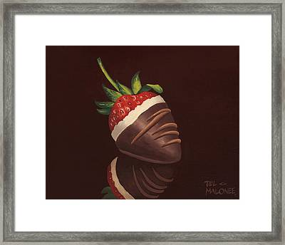 Strawberry Surprise Framed Print