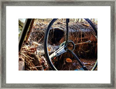 Strawmobile Framed Print by Greg Mimbs