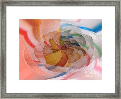 Straws Framed Print by Pierre Dumas