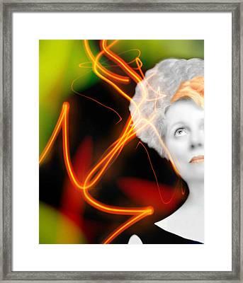 Streak Framed Print by Diana Angstadt