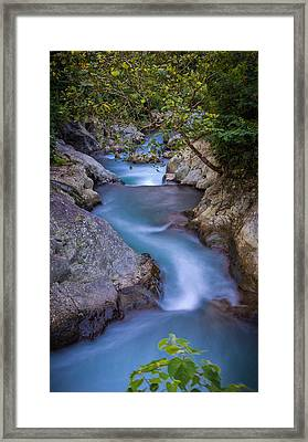 Stream - Bali Framed Print by Matthew Onheiber