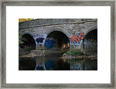 Framed Print featuring the photograph Stream Art by Greg Graham