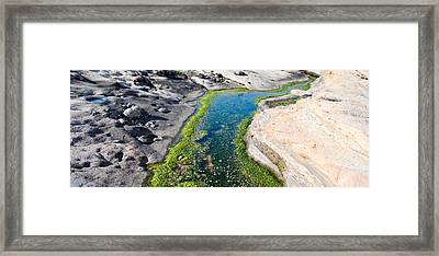 Stream Flowing Through A Rocky Framed Print by Panoramic Images