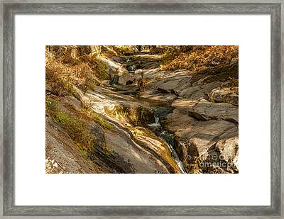 Stream In The Sierras  1-7828 Framed Print by Stephen Parker