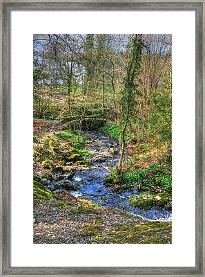 Framed Print featuring the photograph Stream In Wales by Doc Braham