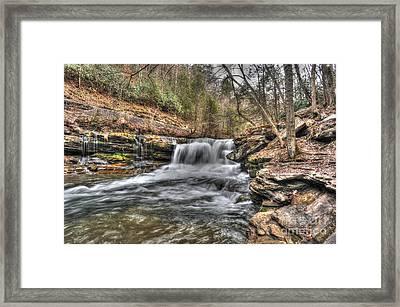 Stream Near Thurmond Wv Framed Print by Dan Friend