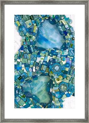 Stream Of Life Framed Print by Valerie Fuqua