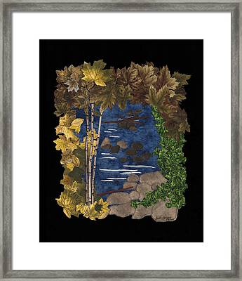 Stream Of Tranquility Framed Print by Anita Jacques