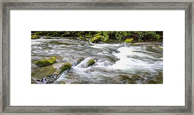 Framed Print featuring the photograph Stream  by Trace Kittrell