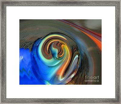 Streaming In Color Framed Print