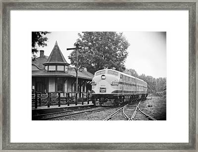 Streamliners Festival -- Post Process Framed Print