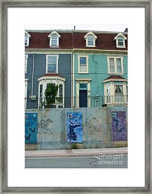 Street Art 2 Framed Print