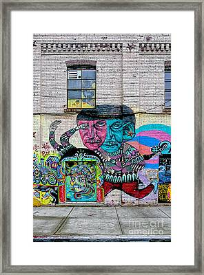 Street Art 2 Framed Print by Bob Stone
