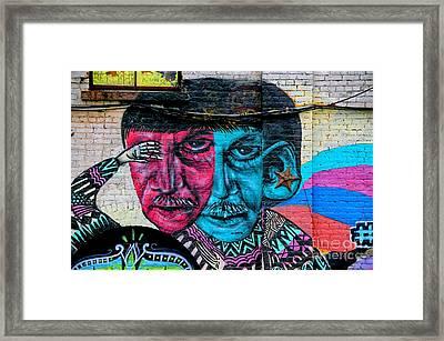 Street Art 3 Framed Print by Bob Stone