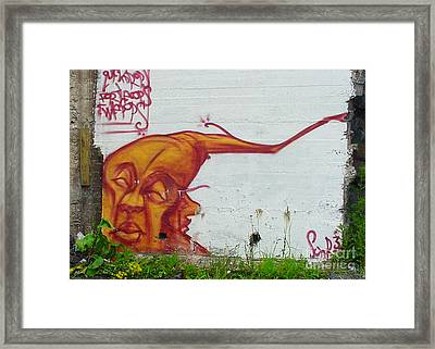 Street Art 4 Framed Print