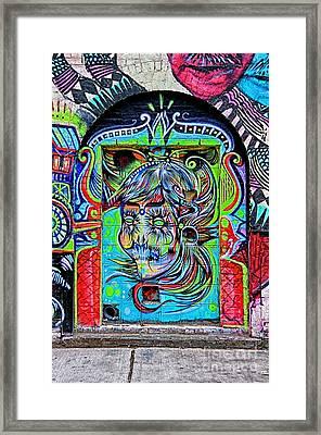 Street Art Framed Print by Bob Stone