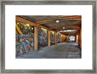 Street Art Framed Print by David Bearden