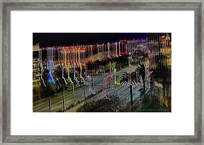 Street Art II Framed Print by Visual Artist  Frank Bonilla