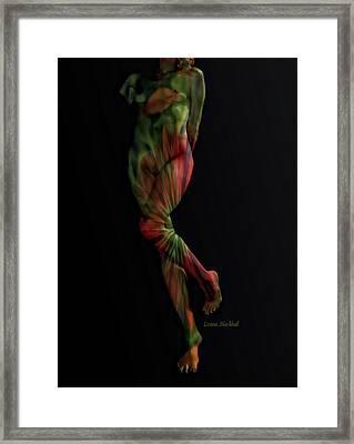 Street Artist Framed Print by Donna Blackhall
