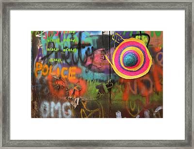 Street Colors Framed Print