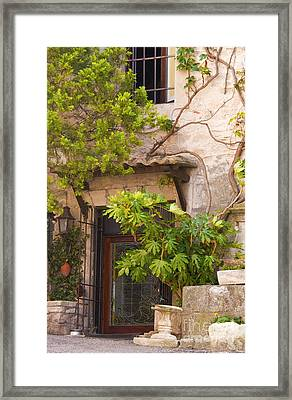 Street Entrance Framed Print by Bob Phillips
