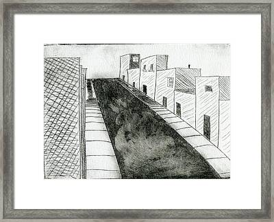 Street II Framed Print by Mike Rhineheart