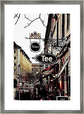 Street In Berlin Framed Print by Gynt