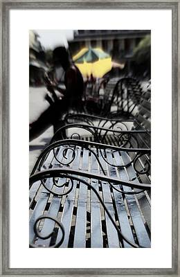 Street Jazz In The Big Easy Framed Print