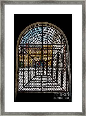 Street Life In Granada Framed Print by Christina Klausen