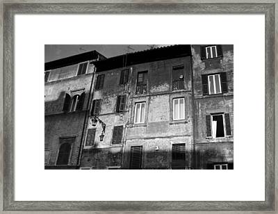 Framed Print featuring the photograph Street Light by Matthew Ahola