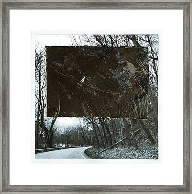 Street Framed Print by Marie Tosto