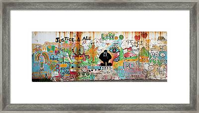 Street Mural At Liguanea Framed Print