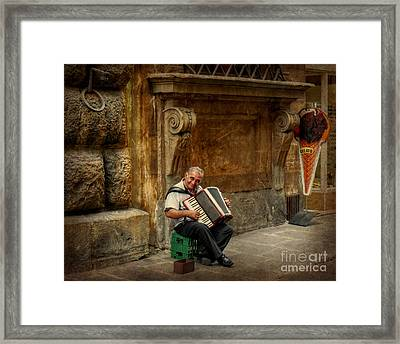 Street  Music Framed Print