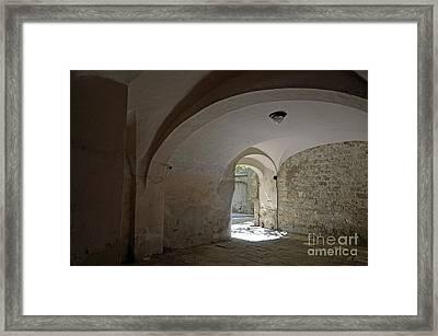 Street Passageway Framed Print