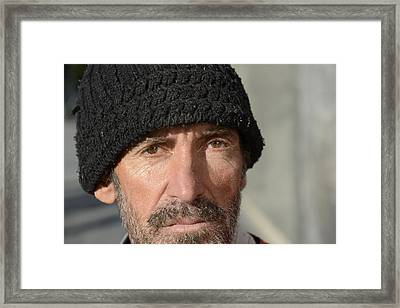 Street People - A Touch Of Humanity 24 Framed Print