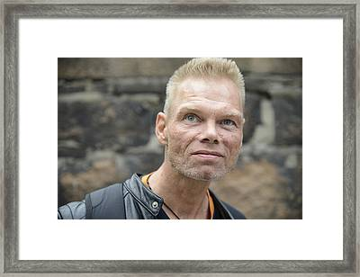 Street People - A Touch Of Humanity 3 Framed Print