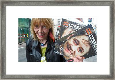 Street People - A Touch Of Humanity 6 Framed Print