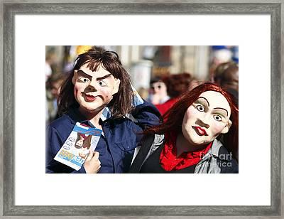 Street Performers Framed Print by Craig B