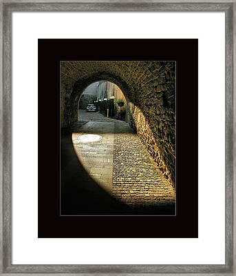 Street Photography - Romania Framed Print