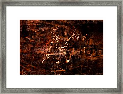 Street Poetry 7 Framed Print