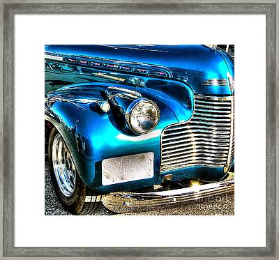 Street Rod Framed Print by Debbi Granruth