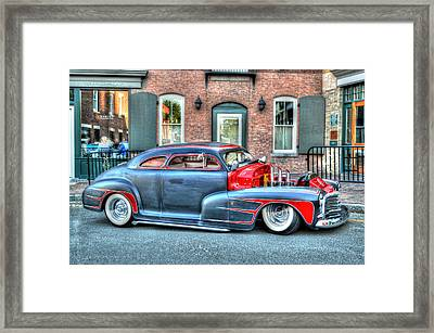 Street Rod Framed Print
