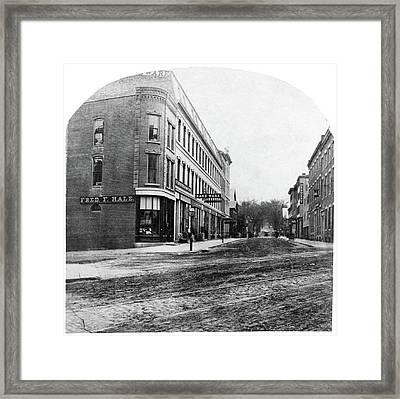 Street Scene, C1900 Framed Print by Granger