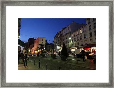 Street Scenes - Paris France - 011315 Framed Print by DC Photographer