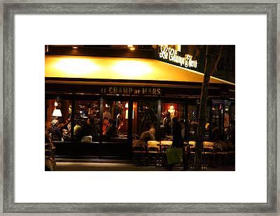 Street Scenes - Paris France - 011320 Framed Print by DC Photographer