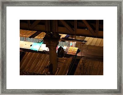 Street Scenes - Paris France - 011323 Framed Print by DC Photographer